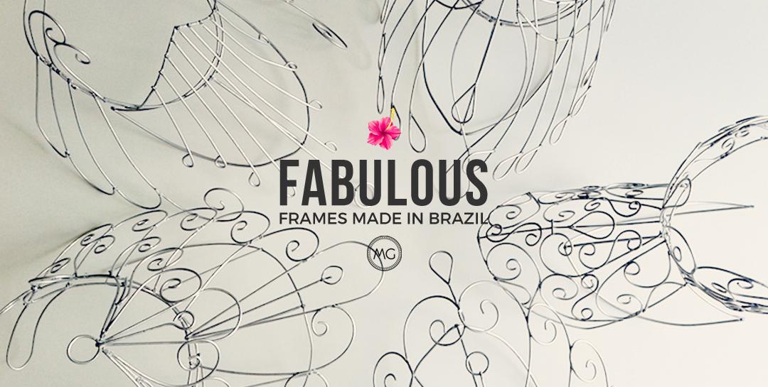 Wire frames for samba costumes - Miss Glamurosa Costumes
