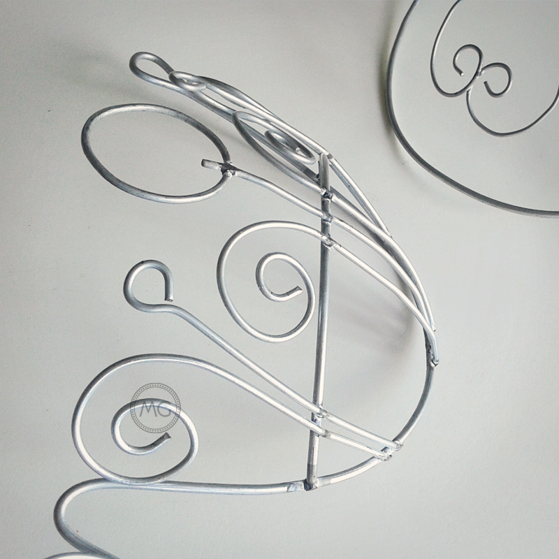 Details of new wire frames for samba costumes - Miss Glamurosa Costumes
