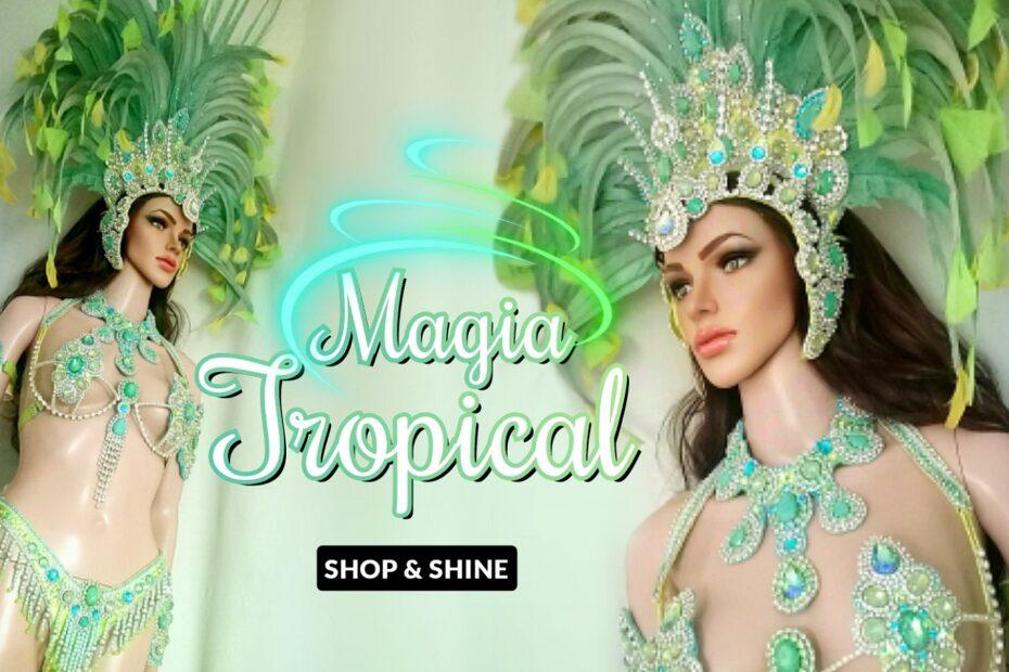Magia Tropical Samba Costume - Miss Glamurosa Costumes