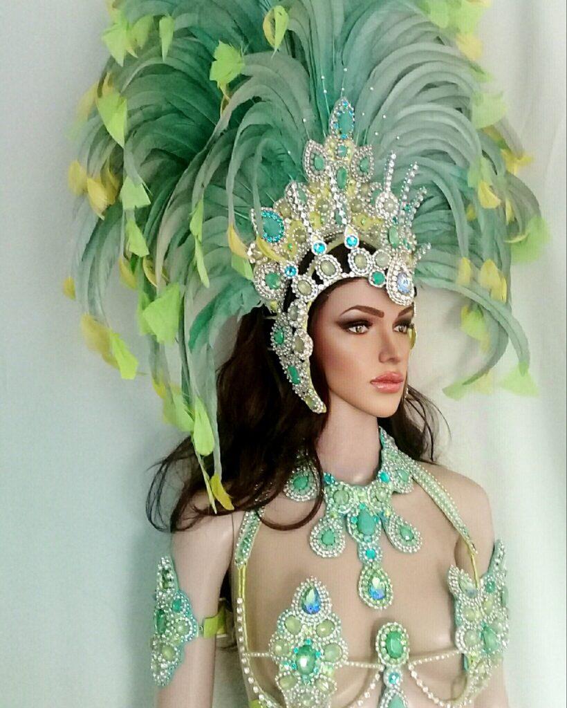 MAGIA TROPICAL - New Handmade Samba Costume by Miss Glamurosa Costumes