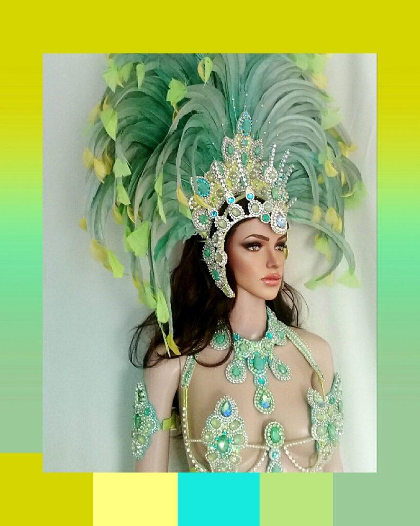 Magia Tropical Samba Costume by Miss Glamurosa Costumes