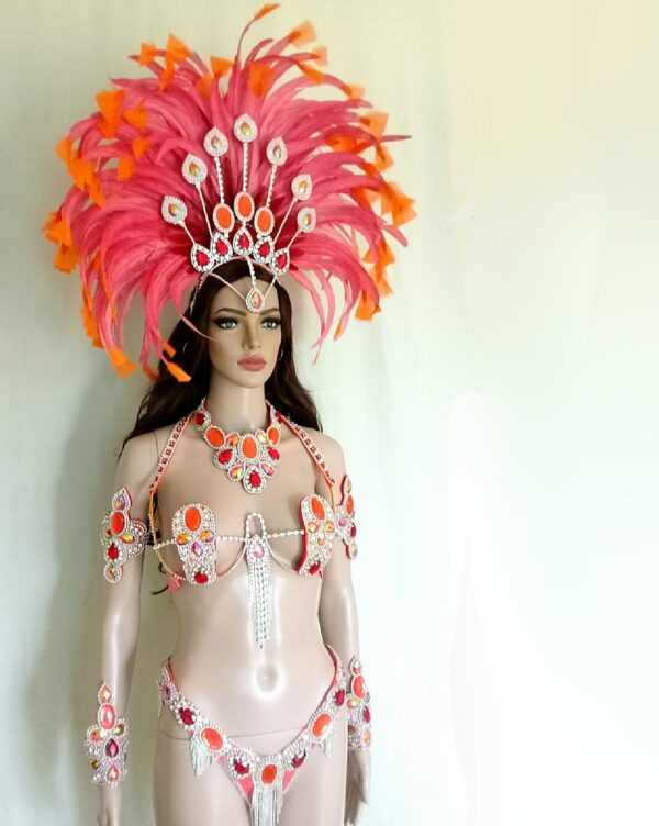 Foxy Samba Costume by Miss Glamurosa Costumes